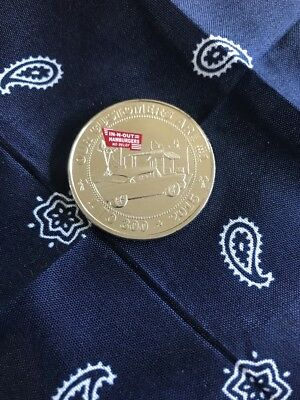 in n out burger 2015 coin