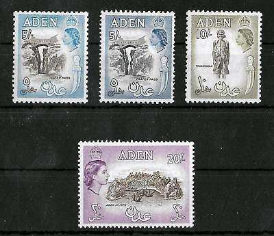 ADEN 1953-1963 Mint NH Set of 4 Key Values I Unchecked for Type