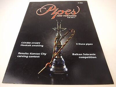 Group Lot 5 Issues Pipes & Tobaccos Magazines Spring Summer Fall Winter 2010-11