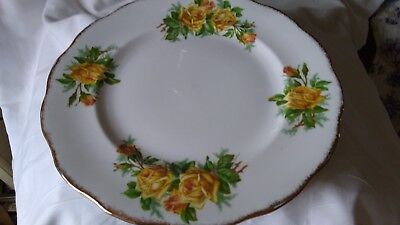 Royal Albert Yellow Tea Rose Dinner Plate 10.25inches