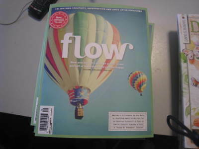 June/July 2018 FLOW MAGAZINE Issue 24  A Magazine For Paper Lover's BRAND NEW
