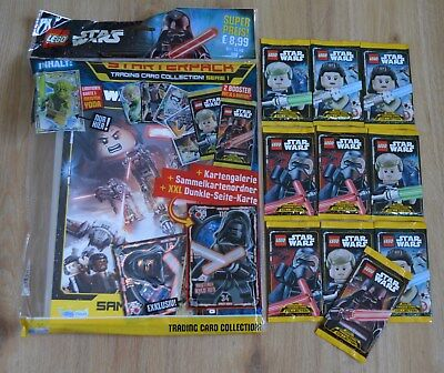 Lego Star Wars™ Serie 1 Figurine Gioco 10 Booster / 50 Mappe: + Starterpack