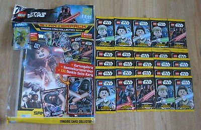 Lego Star Wars™ Serie 1 Figurine Gioco 25 Booster / 125 Mappe: + Starterpack