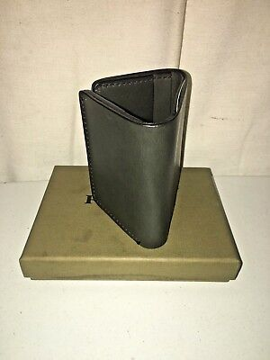 New Filson Made In Usa Leather Trifold Wallet