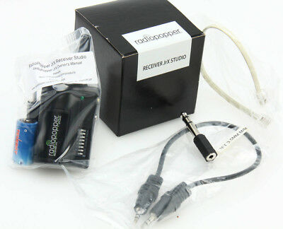 Radiopopper Receiver JrX Studio flash trigger in box w/ sync cord kit 372694