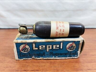 Vintage NOS Accessory LEPEL Ignition Corp. Spark Plug High Frequency Converter