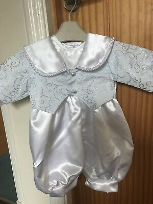 Baby Boys Christening Outfit Age 0-6 Months