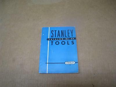 Vintage Stanley Tools Catalog No. 34 1949 Edition -  Chisels /  Planes / Hammers