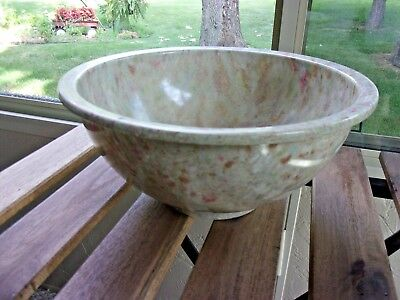 Texas Ware 118 Confetti Beige/Brown Melamine Mixing Bowl / Pre-Owned