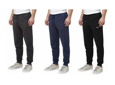 Puma Men's French Terry Athletic Jogger Sweat Pants Select Color & Size