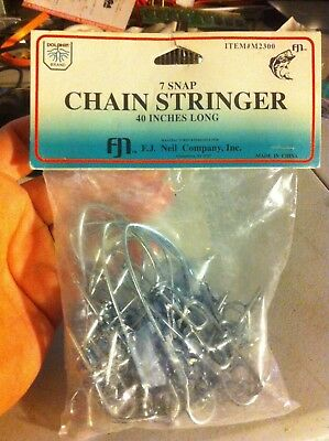 Dolphin 7 Snap Chain Stringer 40 Inches Long