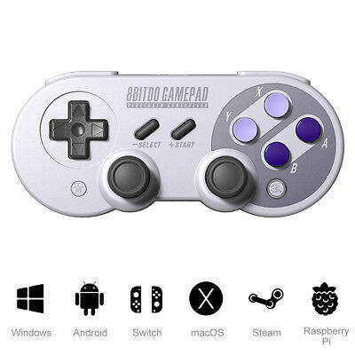 8Bitdo Wireless Bluetooth Controller SN30 Pro With Classic Joystick Gamepad New