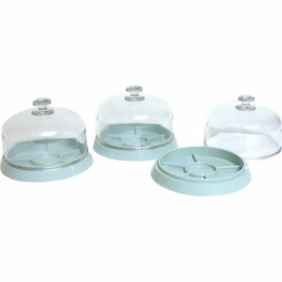 """3 Watch Covers & Trays 4"""" 2 1/4"""""""