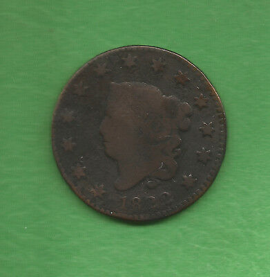 1822 Matron Head, Large Cent - 196 Years Old!!
