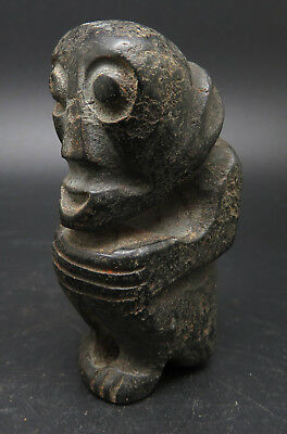 Antique Stone Age Neolithic Mythological Idol Statue (2)