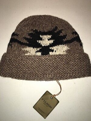 New With Tags Filson Made In Canada Limited Edition Cowichan Wool Cap One Size