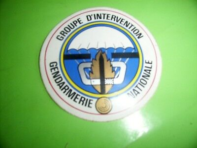 Gendarmerie  AUTO COLLANT GROUPE D'INTERVENTION GENDARMERIE NATIONALE( G.I.G.N)