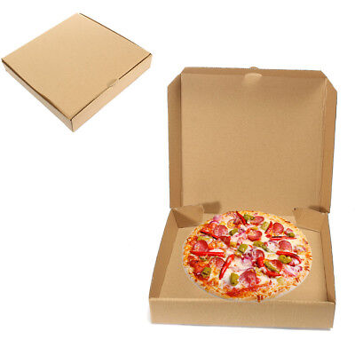 1-20st Pizzakartons Pizzabox Pizzakarton Pizza Karton Box Boxen 26.5x26.5x4cm