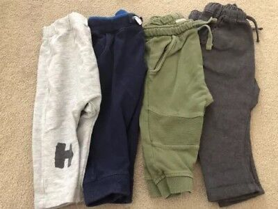 Boys 9-12months Zara Bundle Track Bottoms