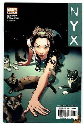 Nyx #5 Early Apperance Of X-23 First Print Aug 2004
