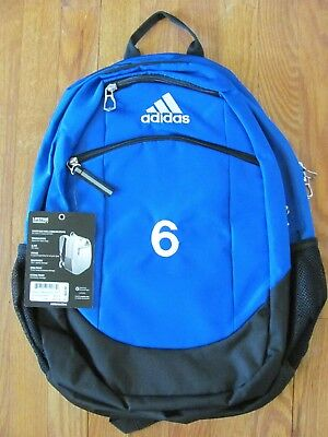 1fcdef47d6 adidas Striker II (2) Team Backpack in Royal Blue with Embroidered  6