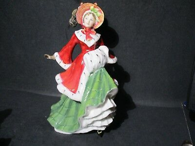 Royal Doulton Figurine  WINTERTIME  HN 3622  Made in Engand  SM T41 PA