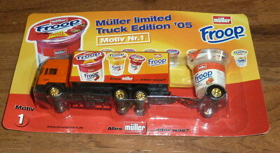 Müllermilch limited Truck Edition '05 Motiv Nr.1 Froop LKW