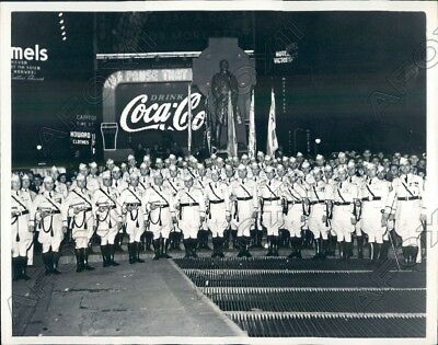 1937 New York American Legion Drum Corps Chicago Illinois Post 118  Press Photo