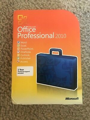 Microsoft Office Professional 2010 (Retail) (1 Computer/s) - Full Version for...