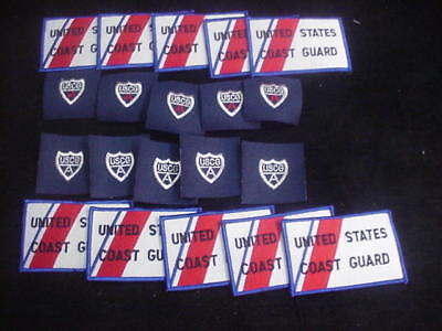 Coast Guard Patches (20) A-15