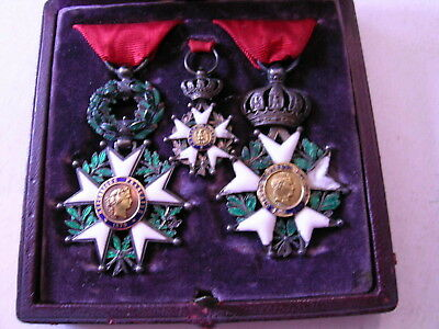 Boxed Set Legion Of Honour Medals