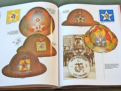 """""""equipping The Corps Vol. 1"""" Usmc Marine Us Ww1 Helmet Pack Belt Reference Book"""