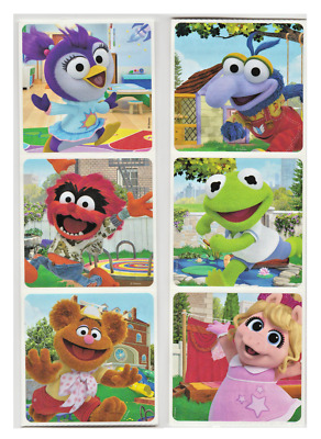 25 Muppet Babies Glitter STICKERS Party Favors for Birthday Treat Loot Bags4