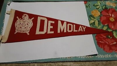 De Molay Fraternal Pennant