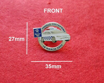 Sydney 2000 Olympic NSW Vehicle Checkpoint Pin