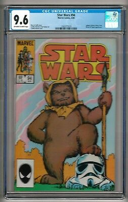 "Star Wars #94 (1985) CGC 9.6 OW/W Pages  Duffy - Martin  ""Admiral Ackbar"""