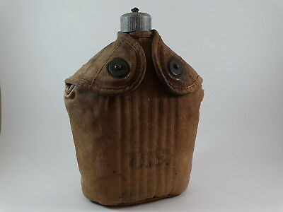 Vintage WWI US Canteen and Pouch AGM Co 1918