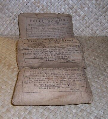 Ww 2 1942 Common Wealth Of Australia Shell Dressing 1942 Dated And Unused.