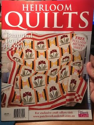 quilting magazine/book - HEIRLOOM QUILTS - includes patterns for 9 projects
