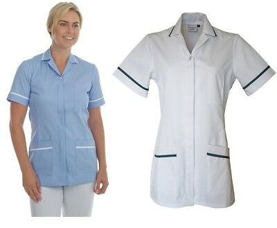 Nurses Tunic Uniform Vet Salon Beauty Medical Dental Therapist Healthcare ladies