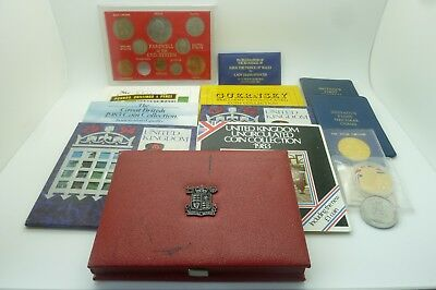 Bulk Lot United Kingdom Proof / Uncirculated Coin Collections / Sets And Others