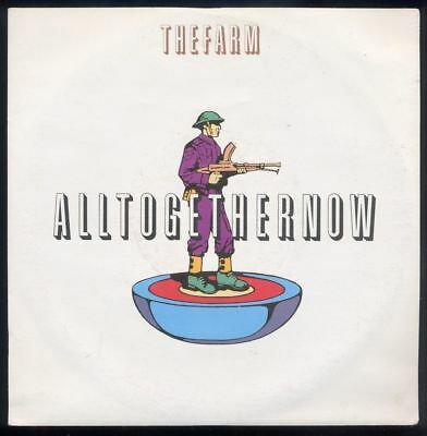"7"" The Farm: All Together Now / All Together Now (Re Mixes) - 1990"