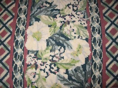 "Vintage Tapestry Kit Cushion Cover Complete 16""Unused-Winter By Julia A Court"