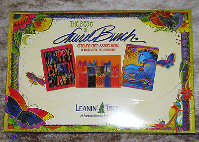 LEANIN TREE Art of Josephine Wall 20 GREETING CARDS~1 each 20 designs~#90605