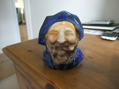 Wonderful Vintage Character Jug Of Seaman By Great Yarmouth Pottery