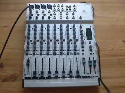 BEHRINGER EURORACK MX1604A 4 Mono 4 Stereo Input Mixer + Manual And Power  Supply