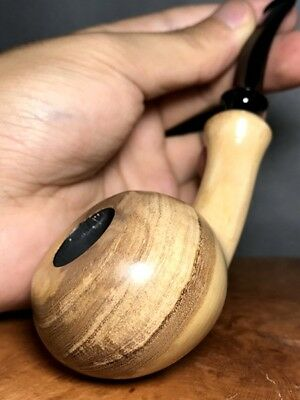 Road Town Olive Wood craft pipe--- unsmoked