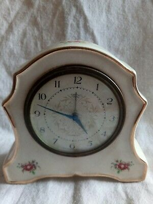 vintage smiths empire alarmette mantel clock