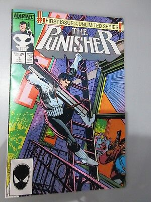 The Punisher #1 First Issue of an Unlimited Series 1 July 1987 Marvel Comics (B9