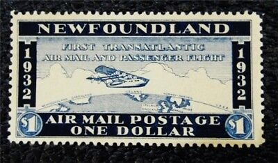 nystamps Canada NewFoundland Air Mail Stamp Mint No Gum $35